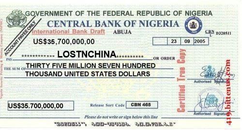 Nigerian Bank Scam 2 0 Part 1 Lostnchina