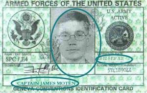 CAPTAIN JAMES MOTEN ID