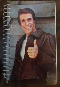 "The Fonz says, ""La Yo!"""
